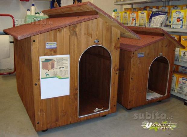 Cucce in legno per cani-gatti