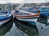 """Gozzo Siciliano """"Fiscinara"""" barca in legno"""
