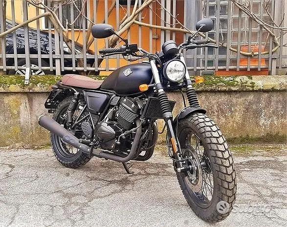 NUOVO Archive Moto Scrambler 250-BICILINDRICO