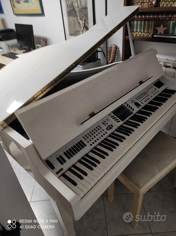 Pianoforte digitale GEM GPS2600 bianco
