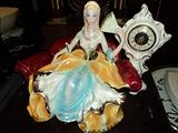 Orologio vintage in ceramica