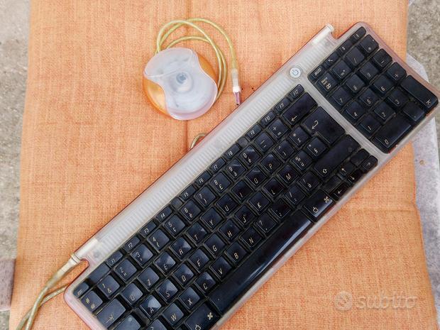 Tastiera e mouse Mac coordinato arancione
