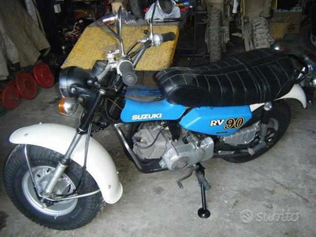 MOTOS-BIKES Suzuki  SUZUKI raro RV 90