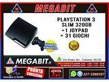 Playstation 3 Slim 320gb 1 Joypad 31 giochi