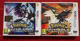 Pokemon Ultra Luna e Pokemon Ultra Sole