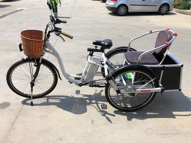 BICI Elettrica 3 ruote per trasporto e consegne