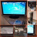 Monitor tv samsung da 24 pollici full hd, hdmi