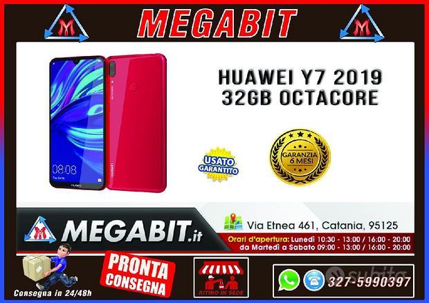 Huawei Y7 2019 Octacore Dual Sim 32Gb Rosso