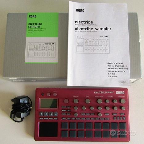 Electribe Sampler 2 Korg colore rosso