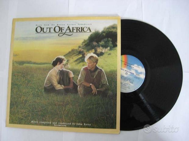 33 giri - OUT OF AFRICA (LA MIA AFRICA)