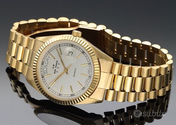 Orologio in oro 18 carati