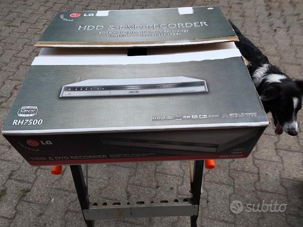 LG HDD & DVD recorder