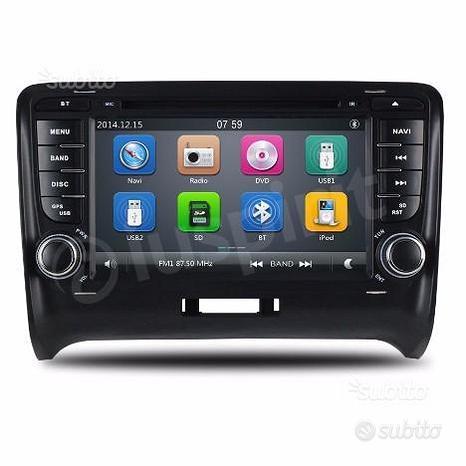 GPS DVD autoradio 2 DIN navigatore Audi TT 2006-12