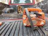 Husqvarna t425 lama tonda e lama carving 25 cm
