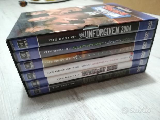 Cofanetto 6 DVD westlemania Revenge