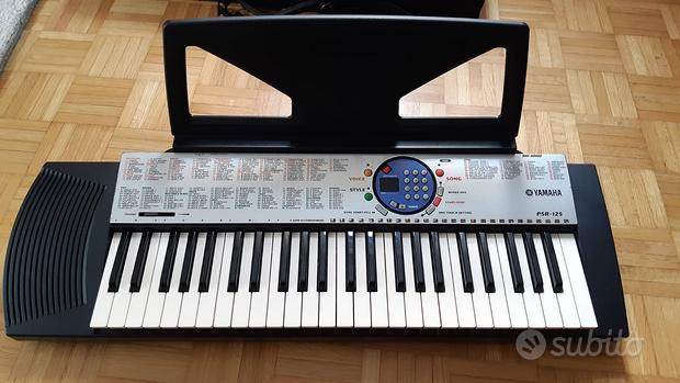 Pianola Yamaha PSR 125