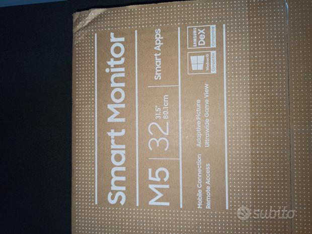 Monitor smart tv 32 Samsung M5