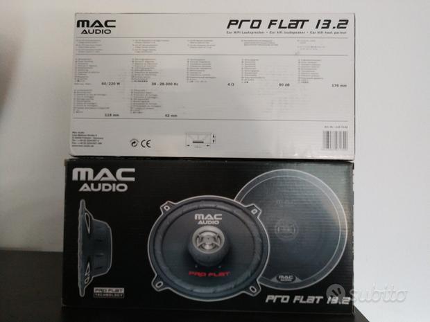 Mac Audio Pro Flat 13.2 Altoparlanti per auto