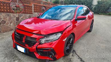 Honda Civic 1.6 i-DTEC 120cv - 2020 Incidentata