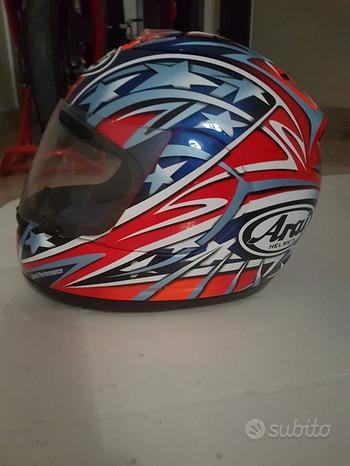 Casco moto Arai rx7 xs Colin Edwards