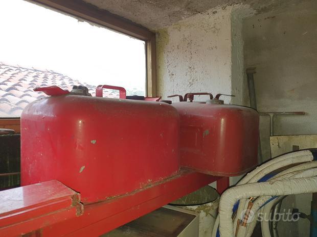 Serbatoio gommone barca