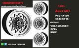 Cerchi allycat 6x 13 et16 4x100 vw opel bmw
