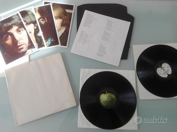 Beatles white album mono prima stampa uk