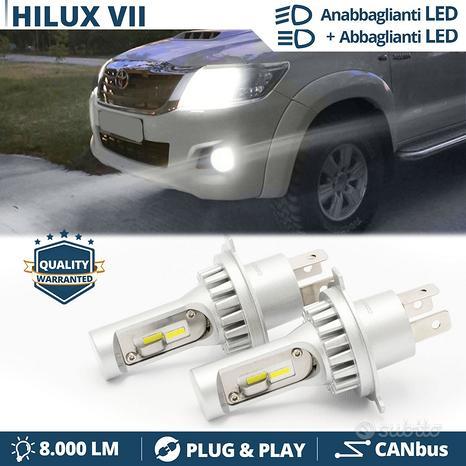 Kit LED H4 Per Toyota Hilux 04-15 Luce Bianche