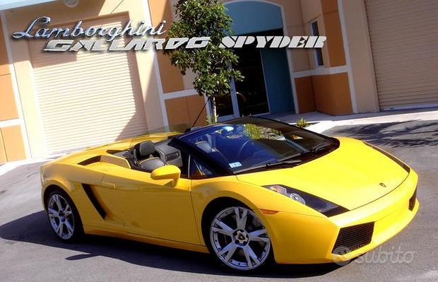 Lamborghini Gallardo 5.0 V10 Spyder - Unica