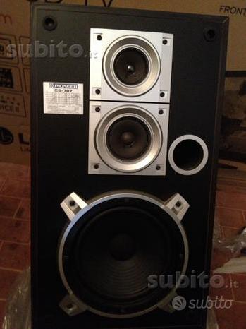 Impianto HI-FI Stereo completo anni 80 - Pioneer