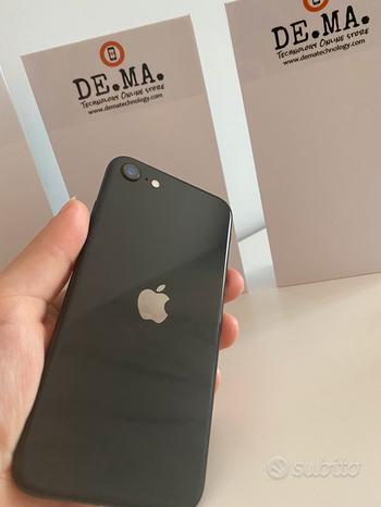IPhone SE2020-64gb Space gray 12 mesi garanzia