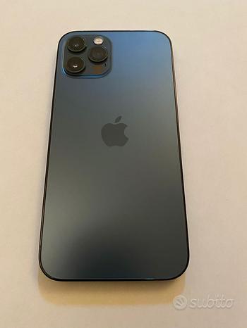 Iphone 12 pro da 256 gb blue pacific + applecare