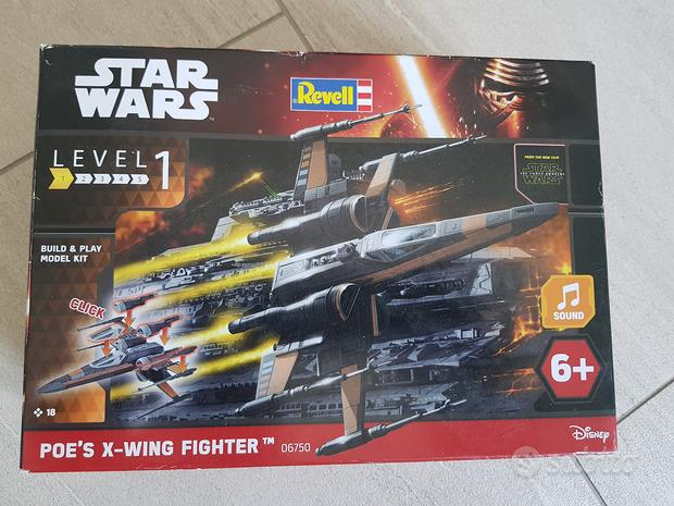 Kit revell scala 1:78 star wars poe's x-wing fight