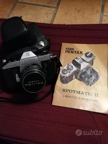 Asahi Pentax Spotmatic II, corpo macchina e Reflex
