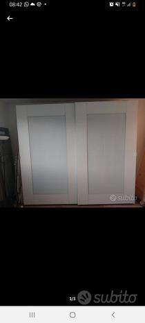 Mobile armadio ante scorrevoli in vetro