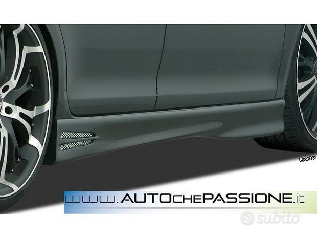 Coppia minigonne GT4 per Mazda MX5 NC abs