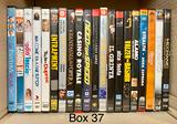 (Box 37 - 38) film dvd ex-noleggio