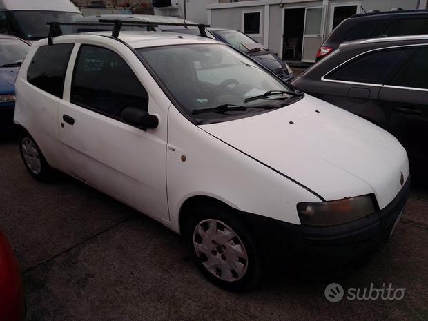 Fiat punto 2^ serie van 1.9 jtd - 2002