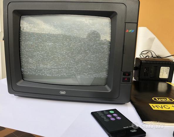TV color portatile 10 pollici Trevi vintage