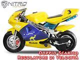 MINIMOTO PS88 CAMEL 49 cc MINI MOTO NITRO