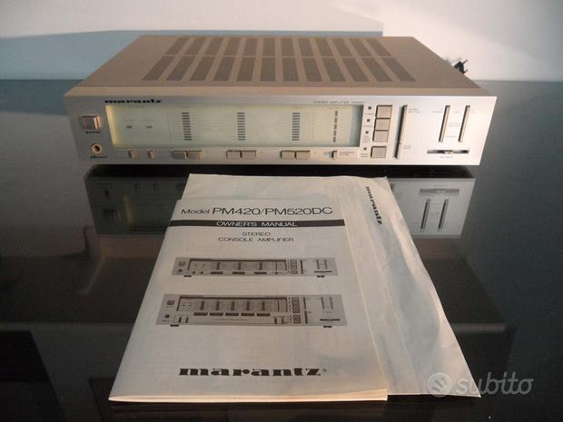 Amplificatore stereo MARANTZ PM 420