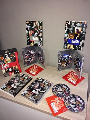 6 DVD Giorgio Gaber anni 60 80 90