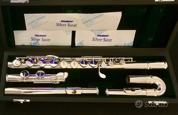 "Flauto in Sol Jupiter ""diMedici"" argento NUOVO"