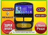 Navigatore Android Renault Clio 2012 - 2017