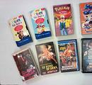 Lotto 15 VHS videocassette