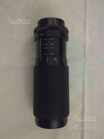 Obiettivo Tokina lunga distanza 100-300mm