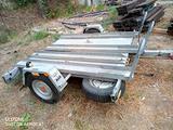Carrello rimorchio trasporto moto