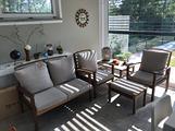Set mobili da giardino, veranda o taverna