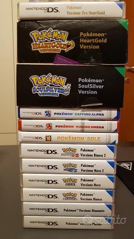 Giochi Pokemon Collezione + Vari
