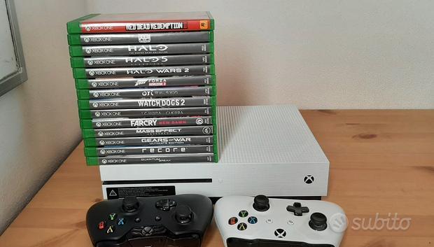 Xbox One S + 14 giochi + 2 controller